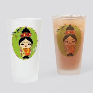 Frida Kahlo Drinking Glass