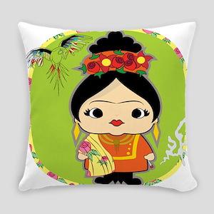 Frida Kahlo Everyday Pillow