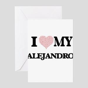 I Love my Alejandro (Heart Made fro Greeting Cards