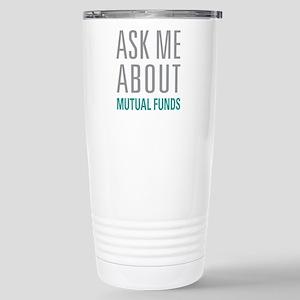 Mutual Funds Stainless Steel Travel Mug