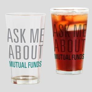 Mutual Funds Drinking Glass