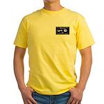Tom Corbett Ass Cadet Sputnik Yellow T-Shirt