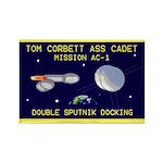 Tom Corbett Ass Cadet Sputnik Rectangle Magnet