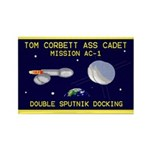 Tom Corbett Ass Cadet Sputnik Rectangle Magnet