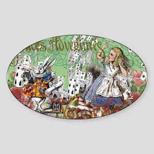 Alice in Wonderland Adventure Vintage Flying Cards