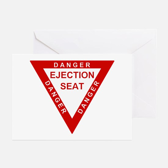 EJECTION SEAT Greeting Cards (Pk of 20)