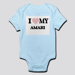 I Love my Amari (Heart Made from Love my Body Suit