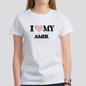 I Love my Amir (Heart Made from Love my wo T-Shirt