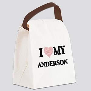 I Love my Anderson (Heart Made fr Canvas Lunch Bag