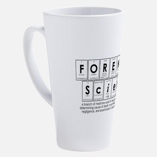 Cute Forensic 17 oz Latte Mug