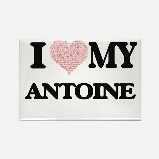 I Love my Antoine (Heart Made from Love my Magnets