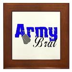 Army Brat ver2 Framed Tile