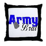 Army Brat ver2  Throw Pillow