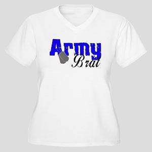 Army Brat ver2 Women's Plus Size V-Neck T-Shirt