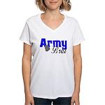 Army Brat ver2 Women's V-Neck T-Shirt