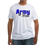 Army Brat ver2 Fitted T-Shirt