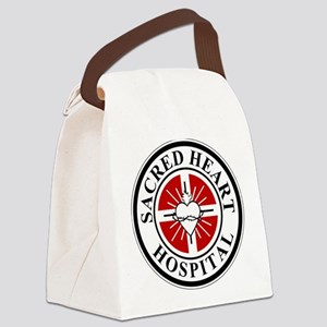 Sacred Heart Hospital Logo Canvas Lunch Bag
