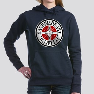 Sacred Heart Hospital Logo Women's Hooded Sweatshi