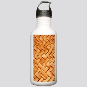 WOVEN STRAW Stainless Water Bottle 1.0L