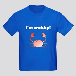 I'M CRABBY Kids Dark T-Shirt