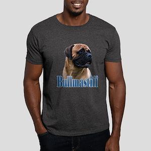 Bullmastiff(red)Name Dark T-Shirt