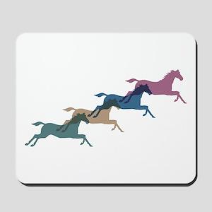 4 Horses Mousepad