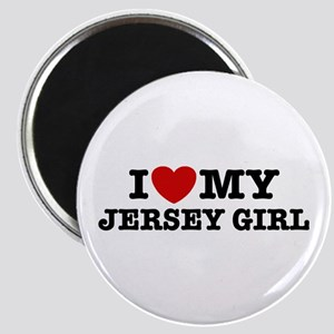 I Love My Jersey Girl Magnet