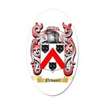 Newport Oval Car Magnet