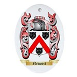 Newport Oval Ornament