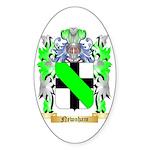 Newnham Sticker (Oval 50 pk)