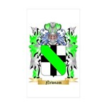 Newnam Sticker (Rectangle 50 pk)