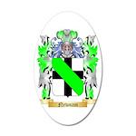 Newnam 35x21 Oval Wall Decal