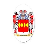 Newmark Oval Car Magnet