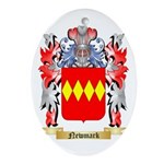 Newmark Oval Ornament