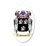 Newman 35x21 Oval Wall Decal