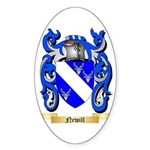 Newill Sticker (Oval 50 pk)