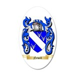 Newill 35x21 Oval Wall Decal