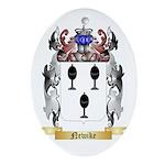 Newike Oval Ornament