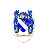 Newell Oval Car Magnet