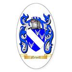 Newell Sticker (Oval 50 pk)