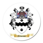 Newcome Round Car Magnet