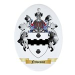 Newcome Oval Ornament