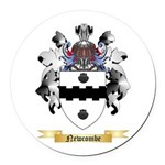 Newcombe Round Car Magnet