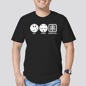 Eat Sleep Radiology Men's Fitted T-Shirt (dark)