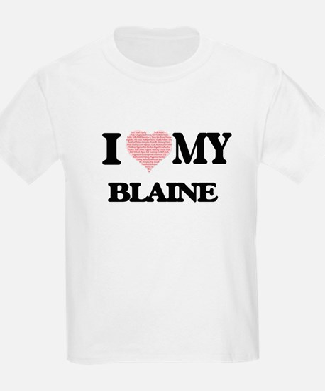 I Love my Blaine (Heart Made from Love my T-Shirt