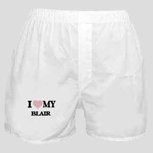 I Love my Blair (Heart Made from Love Boxer Shorts