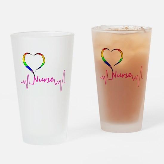 Nurse Pride Drinking Glass