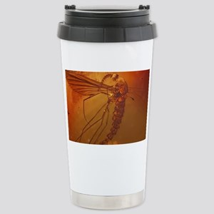 MOSQUITO IN AMBER Stainless Steel Travel Mug