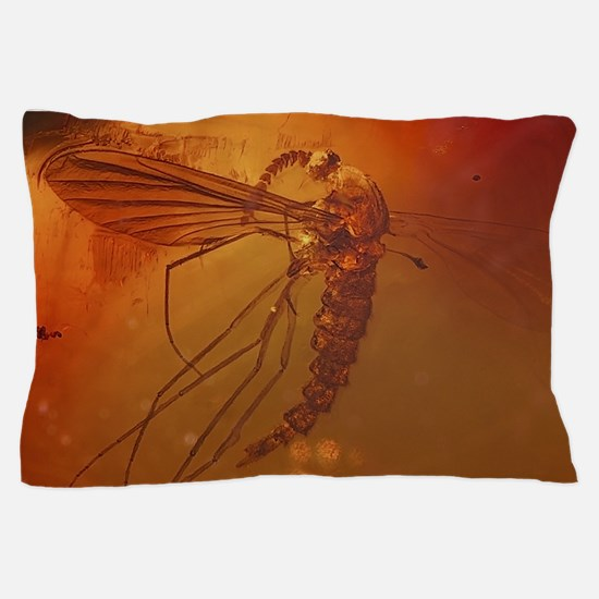 MOSQUITO IN AMBER Pillow Case
