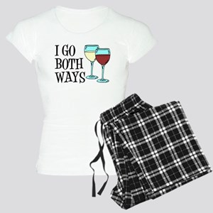 I Go Both Ways Wine Pajamas